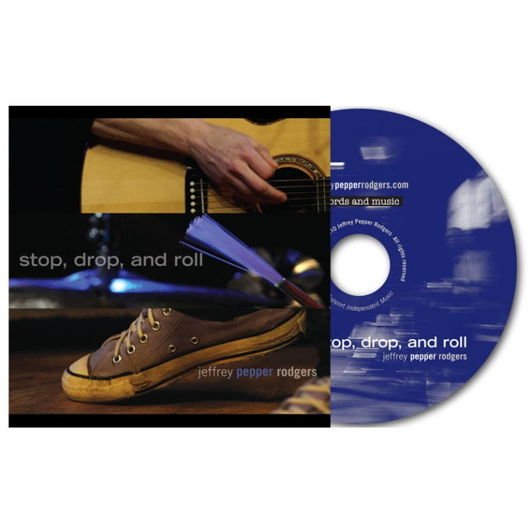 Stop, Drop, and Roll CD and Packaging