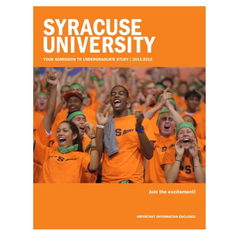 Syracuse University Admissions