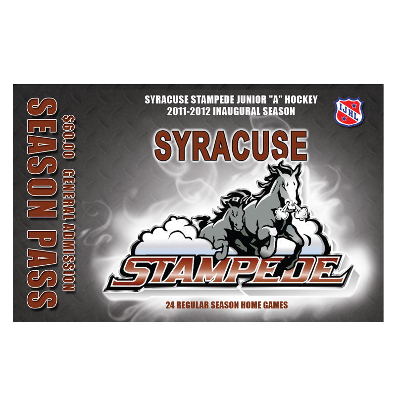 Syracuse Stampede Season Passes