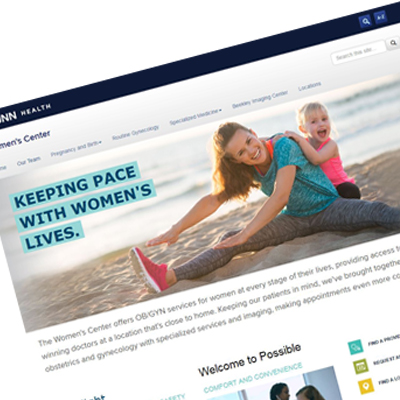 Women's Center Website